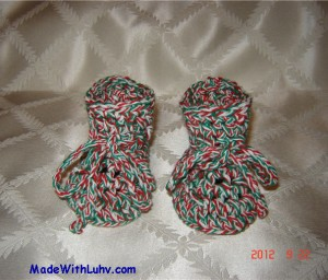 Buy Christmas Baby Booties