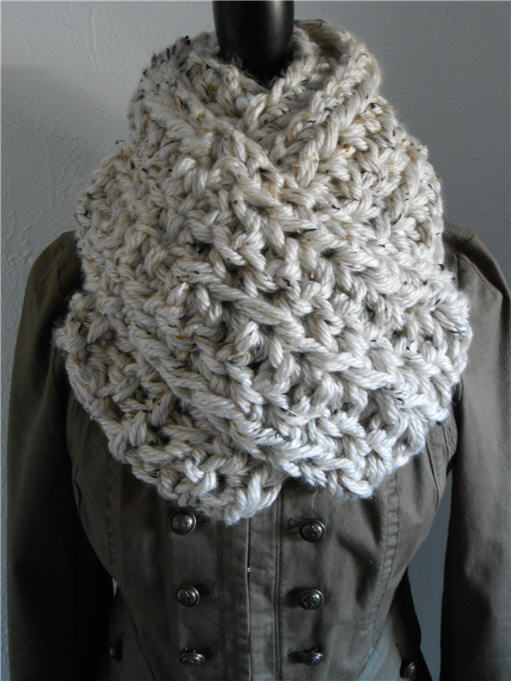 Infinity Scarf Cowl Super Thick Soft & Chunky Extra Long for Sale