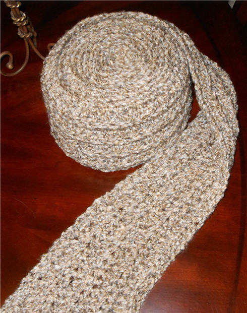 Longest Scarf Ever Handmade For Sale on 2SistersHandmade on Etsy Unique Gift Idea